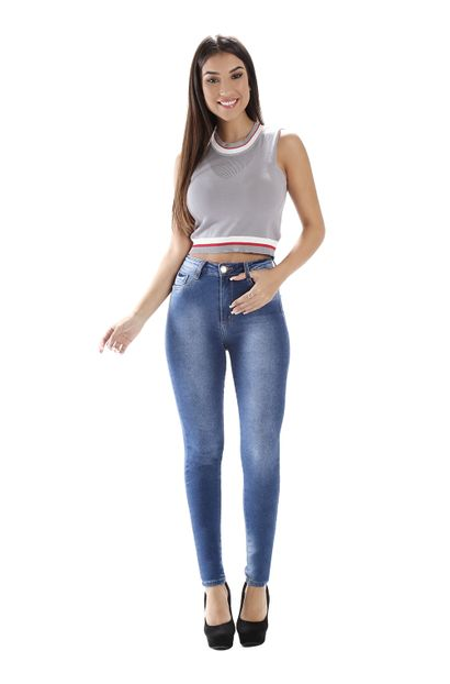 Calça Jeans Feminina Legging Super Lipo - 258901 36