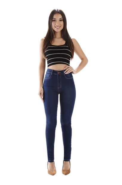 Calça Jeans Feminina Legging Super Lipo - 259269 44