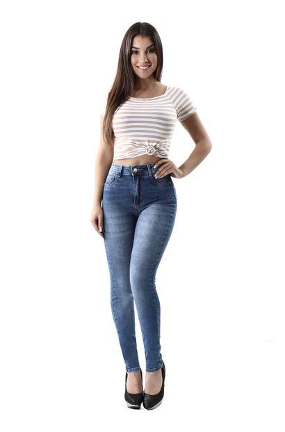 Calça Jeans Feminina Legging Super Lipo - 260250 46