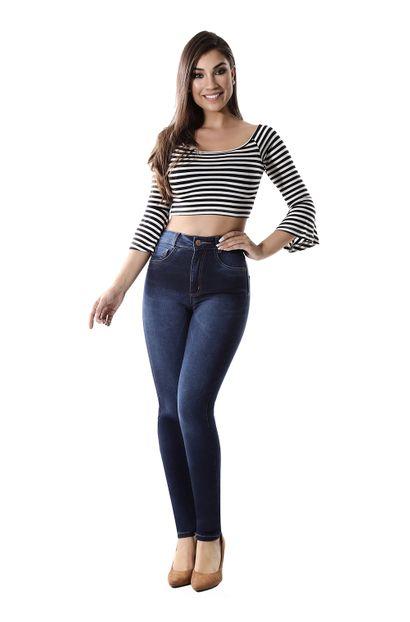 Calça Jeans Feminina Legging Super Lipo - 260226 36
