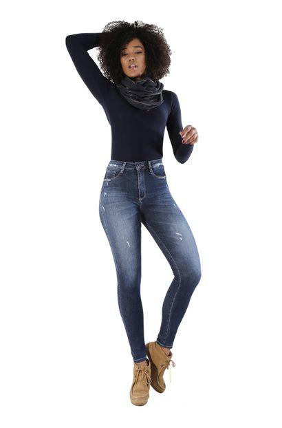 Calça Jeans Feminina Legging Super Lipo - 260228 40