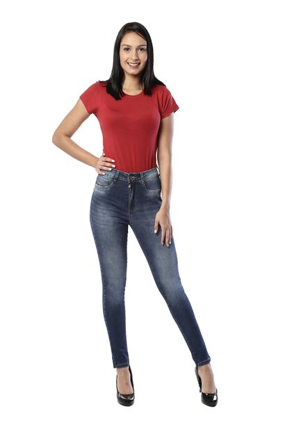 Calça Jeans Feminina Legging Super Lipo - 261234 36