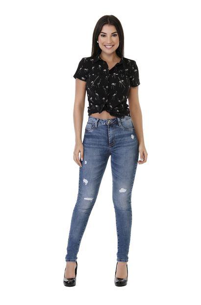 Calça Jeans Feminina Legging Super Lipo - 261530 36