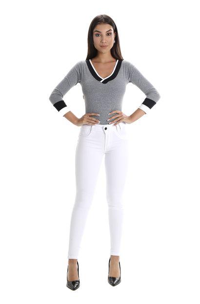 Calça Jeans Feminina Levanta Bumbum - 260180 42