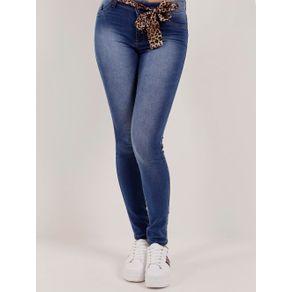 Calça Jeans Feminina Mokkai Azul 42