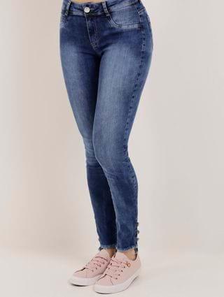 Calça Jeans Feminina Murano Azul