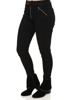 Calça Jeans Feminina Preto