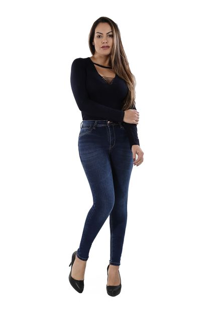 Calça Jeans Feminina Skinny - 260025 36