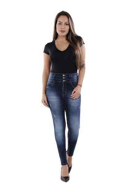 Calça Jeans Feminina Skinny - 260538 36