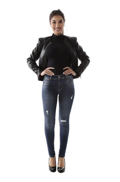 Calça Jeans Feminina Skinny Levanta Bumbum - 259348 40