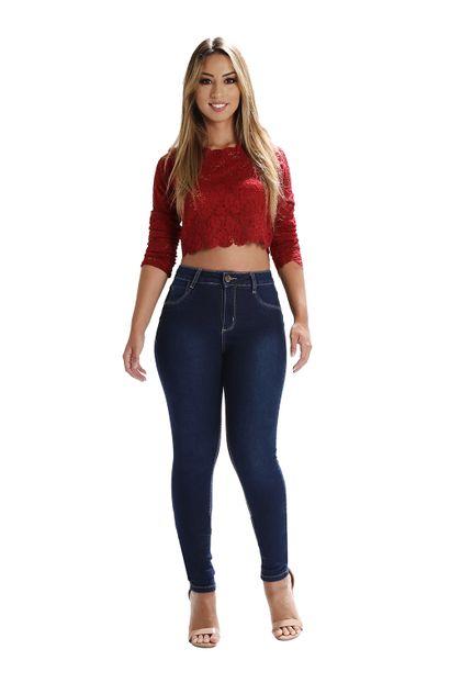 Calça Jeans Feminina Skinny Levanta Bumbum - 259810 42