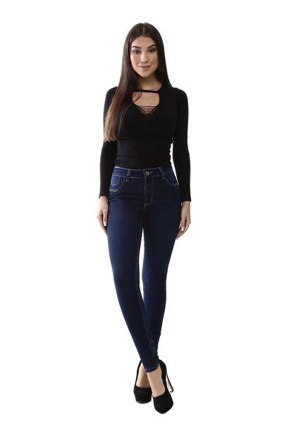 Calça Jeans Feminina Skinny Levanta Bumbum - 259878 38