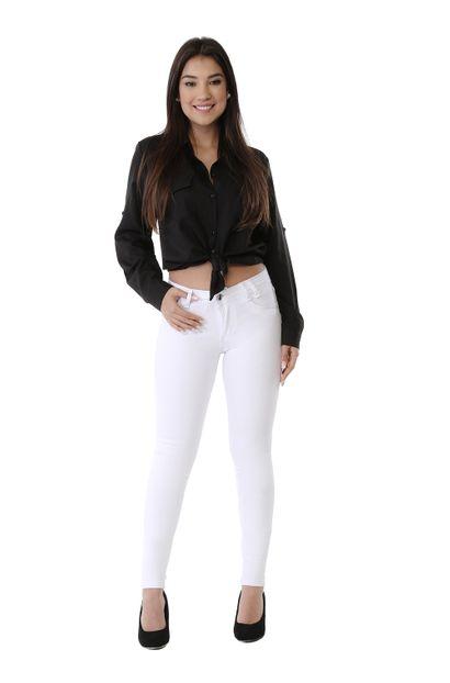 Calça Jeans Feminina Skinny Levanta Bumbum - 261033 38