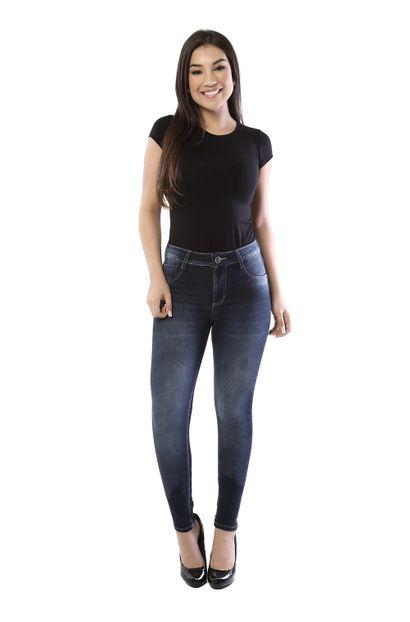 Calça Jeans Feminina Skinny Levanta Bumbum - 261027 38