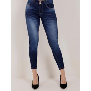 Calça Jeans Feminina Uber Azul 44