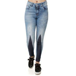 Calça Jeans Feminina Uber Azul 38