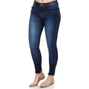 Calça Jeans Feminina Zune Azul 42