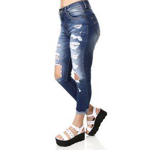 Calça Jeans Feminina Zune Azul 36