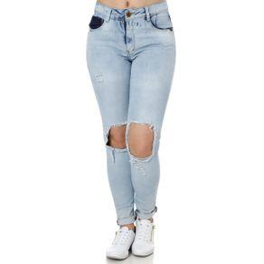 Calça Jeans Feminina Zune Azul 38
