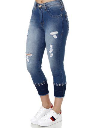 Calça Jeans Feminina Zune Azul