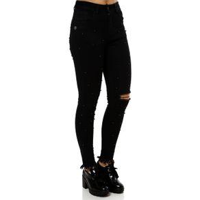 Calça Jeans Feminina Zune Preto 40
