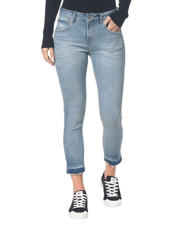 Calça Jeans Five Pockets Ckj 001 Super Skinny - Azul Claro - 34