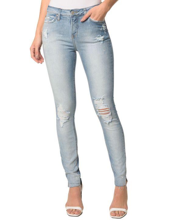 Calça Jeans Five Pocktessts Super Skinny CKJ 001 Super Skinny - Azul Claro - 40