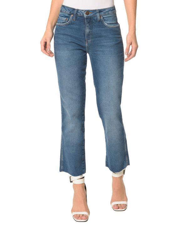 Calça Jeans Five Pockets CKJ 031 Mid Rise Straight Calça Jeans Five Pockets Mid Rise Straight - 38