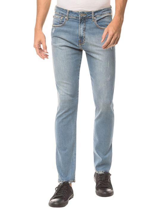 Calça Jeans Five Pockets Ckj 035 Straight - Azul Claro - 38
