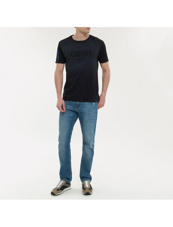 Calça Jeans Five Pockets Ckj 035 Straight - Azul Médio - 38