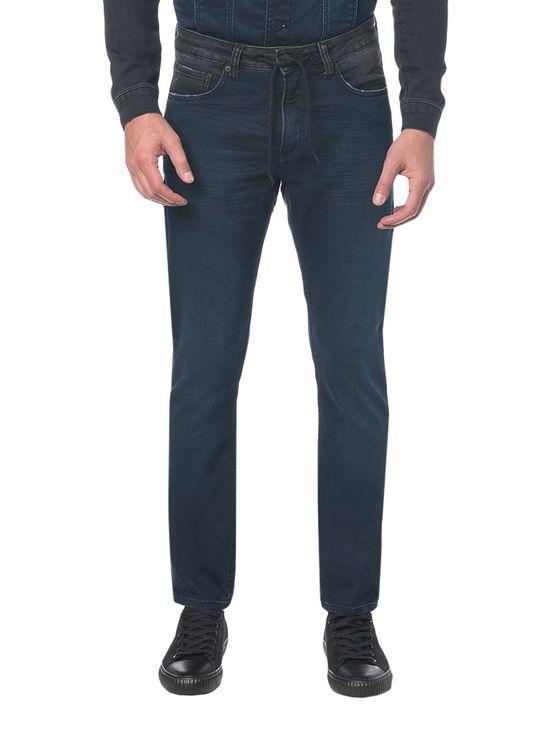 Calça Jeans Five Pockets Ckj 056 Athletic Taper - Marinho - 36