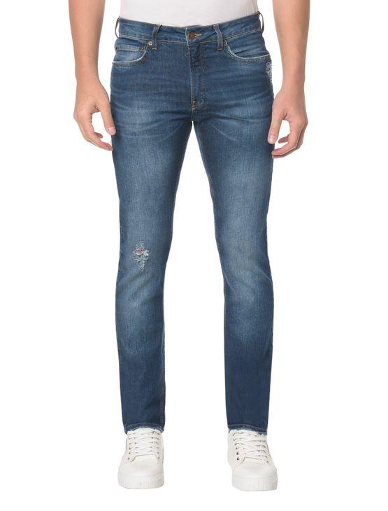 Calça Jeans Five Pockets CKJ 026 Slim Calça Jeans Five Pockets Slim - 40