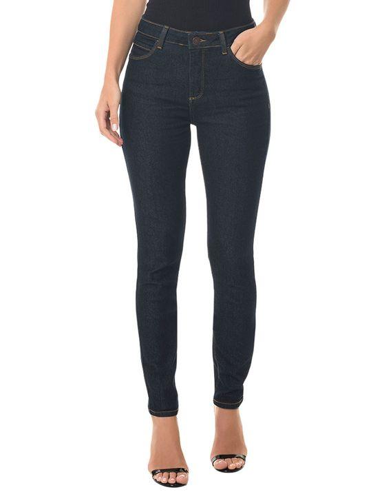 Calça Jeans Five Pockets High Rise Skinny Calça Jeans Five Pck High Rise Skinny - Blue Black - 38