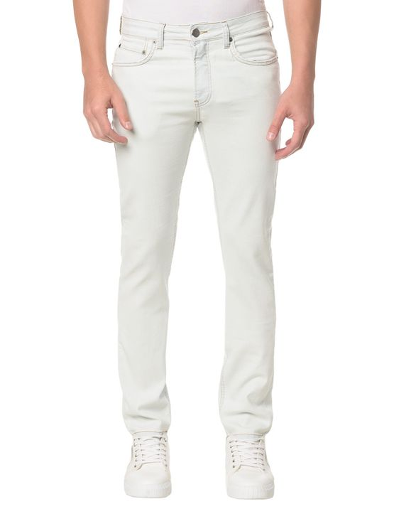Calça Jeans Five Pockets Slim - 42