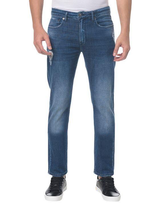 Calça Jeans Five Pocktes Slim CKJ 026 Slim - Marinho - 36