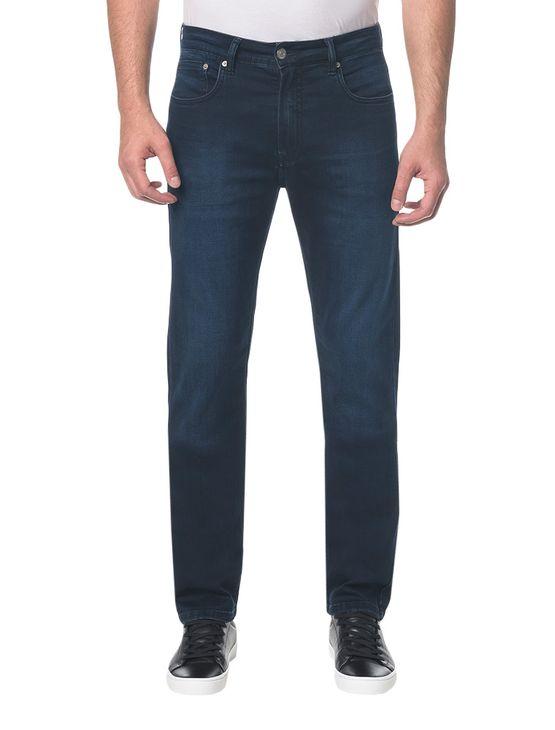 Calça Jeans Five Pockets Straight - Marinho - 38