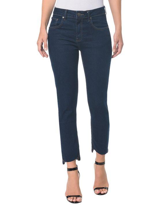 Calça Jeans Five Pocktes High Rise Slim CKJ 020 High Rise Slim - Marinho - 34