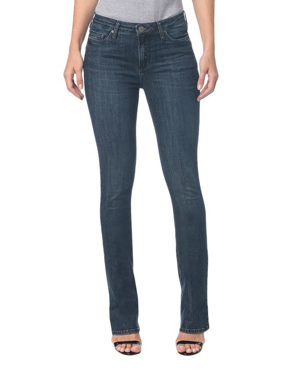 Calça Jeans Five Pocktes Kick Flare CKJ 042 Kick Flare - Marinho - 34