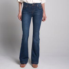 Calça Jeans Flare Dark Classic - 42