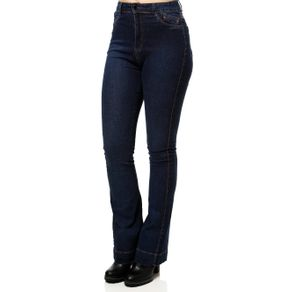 Calça Jeans Flare Feminina Azul 42