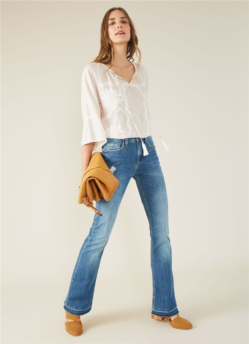 Calca Jeans I Bootcut Margot Jeans 34