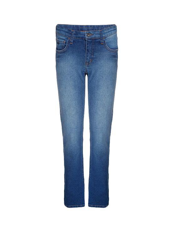 Calça Jeans Infantil Calvin Klein Jeans Five Pockets Skinny Azul Médio - 6