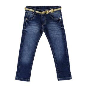 Calça Jeans Infantil para Menina - Azul 2