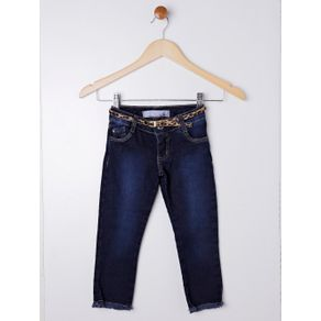 Calça Jeans Infantil para Menina - Azul 1