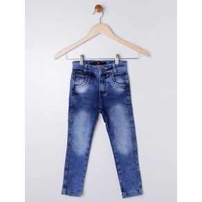Calça Jeans Infantil para Menino - Azul 8