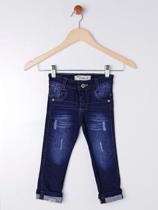 Calça Jeans Infantil para Menino - Azul