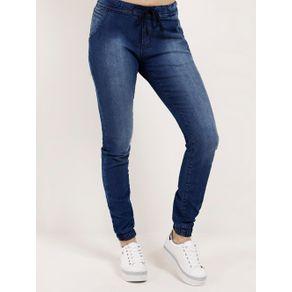 Calça Jeans Jogger Feminina Amuage Azul 40