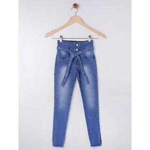 Calça Jeans Juvenil para Menina - Azul 12