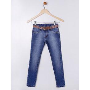 Calça Jeans Juvenil para Menina - Azul 10