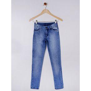 Calça Jeans Juvenil para Menina - Azul 14